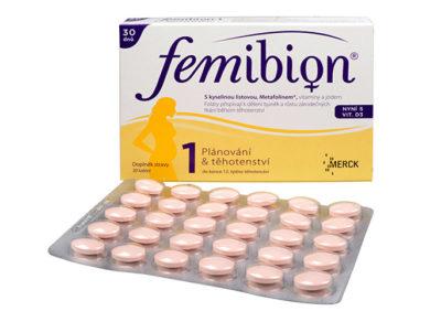 Těhotenské vitamíny Femibion 1