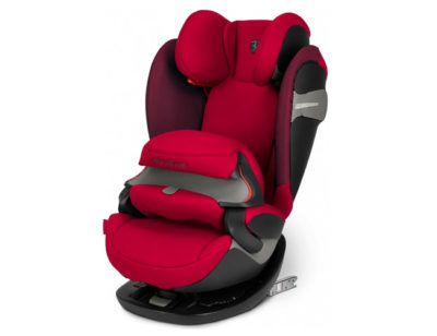 Cybex Pallas S-fix Ferrari Racing red