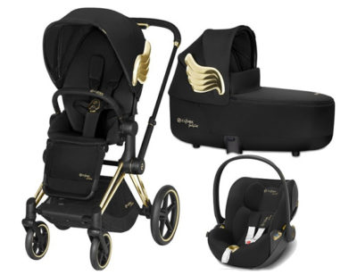 Cybex Priam Lux Seat Wings Lux carry cot by Jeremy Scott