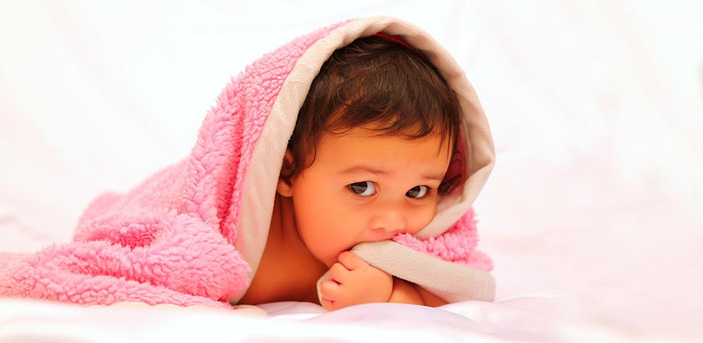 Koupání miminka
