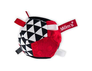 Hencz Toys úchopový míček červený