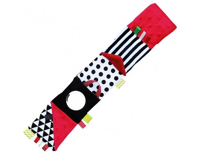 Hencz Toys černobílé kontrastní leporelo